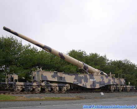 28cm K5(E)列車砲