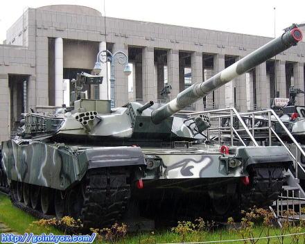 88式戦車(K1戦車)