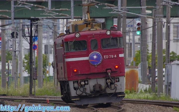 カシオペアHM4号機五稜郭駅近辺