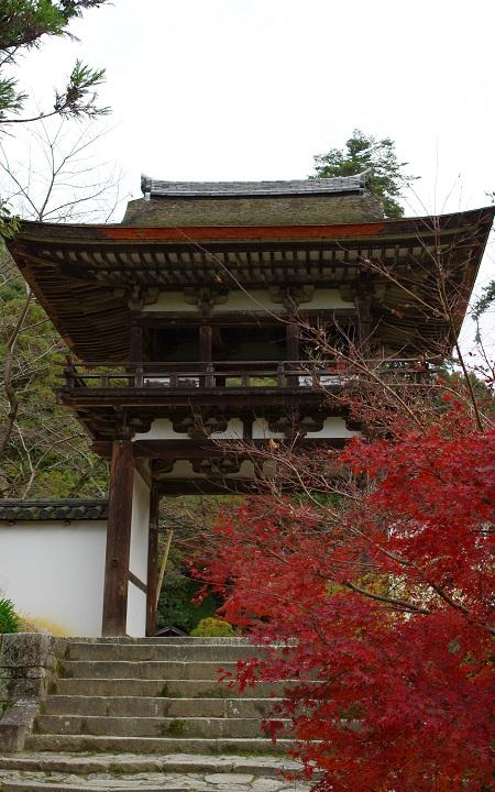 長岳寺 鐘楼門