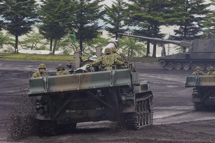 富士駐屯地祭 模擬戦