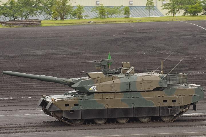 富士駐屯地祭 10式戦車