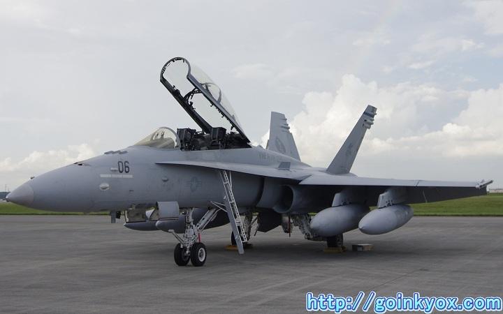 2012年横田基地フレンドシップでーにて撮影したF/A-18D