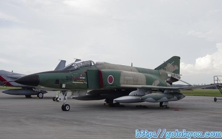 2012年横田基地フレンドシップでーにて撮影したRF-4EJ